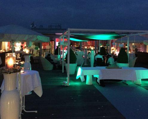 Outdoor Beleuchtung im Kameha Grand Hotel